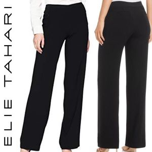 ❤️ Elie Tahari Wide Leg Work Dress Trouser Pants 8